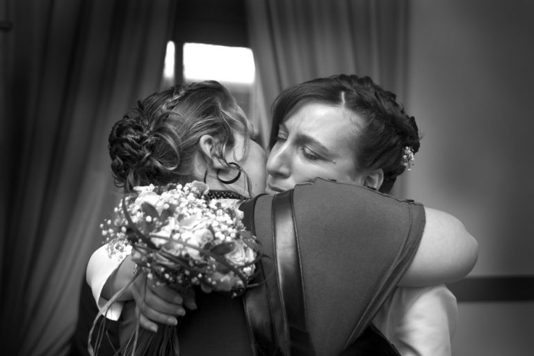 reportage mariage : moment fort